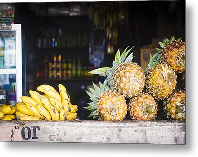 Tropical Fruits Metal Print by Tuimages