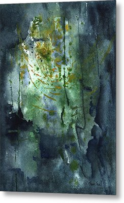 Untitled Abstract 128-13 Metal Print by Sean Seal