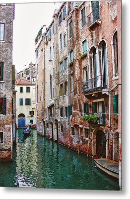 Venice City Of Water 2 Metal Print by Julie Palencia