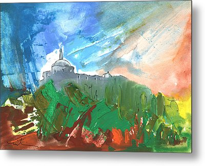 Village In Cathar Country Metal Print by Miki De Goodaboom