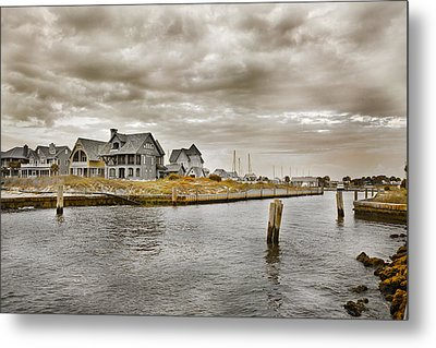 Welcome To Bald Head Island Metal Print by Betsy C Knapp
