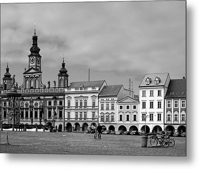 Welcome To Ceske Budejovice - Budweis Czech Republic Metal Print by Christine Till