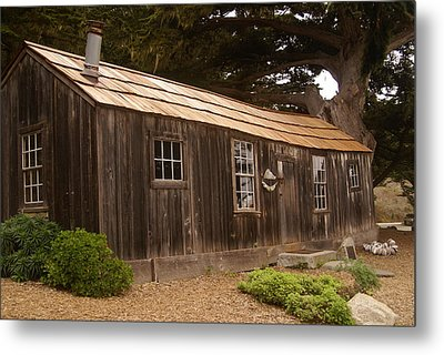 Whalers Cabin Metal Print by Barbara Snyder