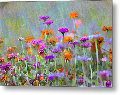 Where Have All The Flowers Gone Metal Print by Bill Cannon