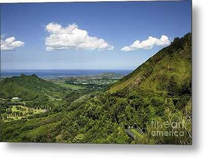 Windward Oahu Metal Print by Charmian Vistaunet