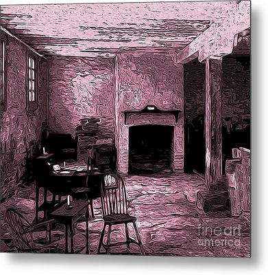 Within The Commissary Metal Print by R McLellan