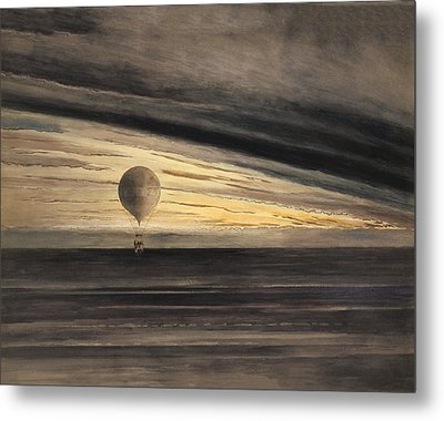 Zenith At Sunrise Metal Print by Digital Reproductions