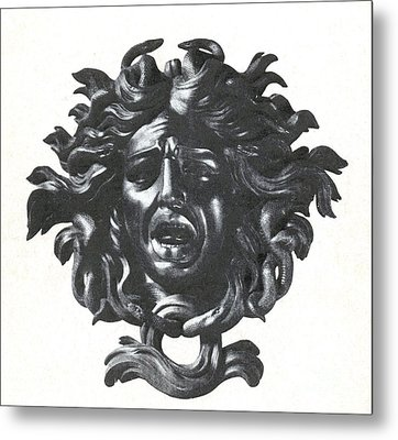 Medusa Head Metal Print by Photo Researchers