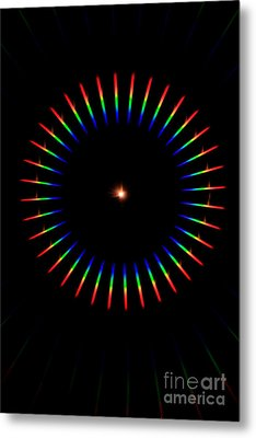 Quicklime Spectra Limelight Metal Print by Ted Kinsman