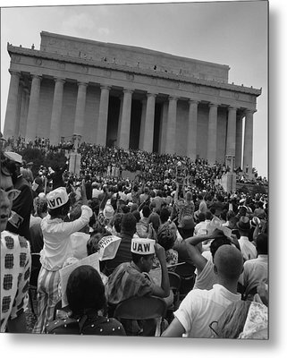 1963 March On Washington. View Metal Print by Everett
