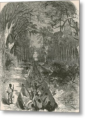 Grants Canal, 1862 Metal Print by Photo Researchers