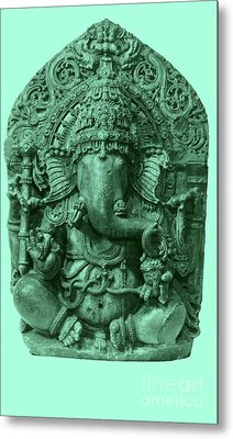 Ganesha, Hindu God Metal Print by Photo Researchers