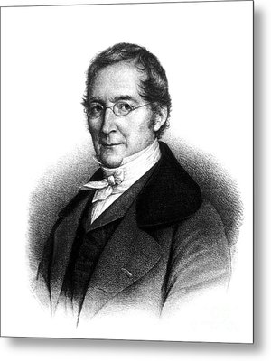 Joseph Gay-lussac, French Chemist Metal Print by Science Source