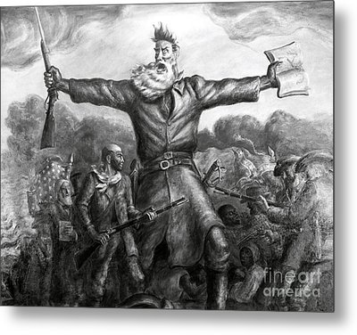 John Brown, American Abolitionist Metal Print by Photo Researchers
