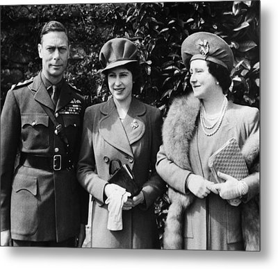 British Royal Family. From Left British Metal Print by Everett
