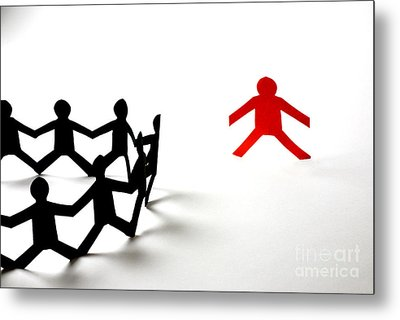 Conceptual Situation Metal Print by Photo Researchers, Inc.