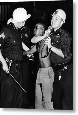 African American Who Has Been Shot Metal Print by Everett