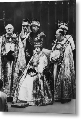 British Royalty. Front Row, From Left Metal Print by Everett