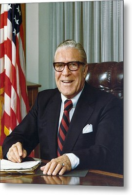 Clarence Kelley As Director Of The Fbi Metal Print by Everett