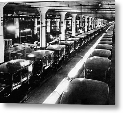 Ev1803 - Early Ford Motor Company Metal Print by Everett