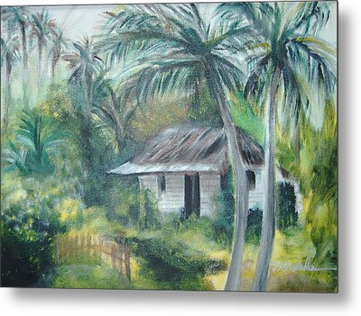 House Of Palms Metal Print by Beth Dolan