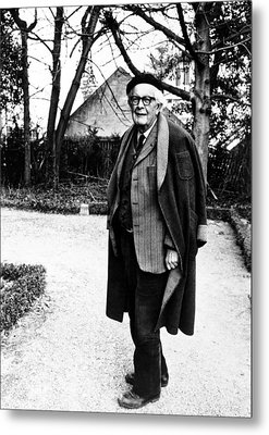 Jean Piaget, Author, 1974 Metal Print by Everett