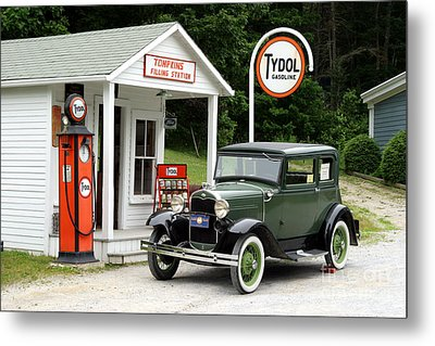 Model A Ford Metal Print by Ted Kinsman