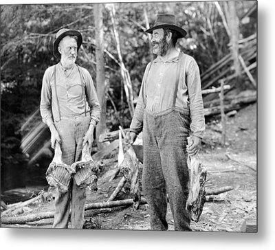 Silent Still: Old People Metal Print by Granger