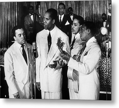 The Ink Spots, C1945 Metal Print by Granger
