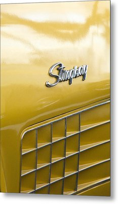 1972 Chevrolet Corvette Stingray Emblem Metal Print by Jill Reger