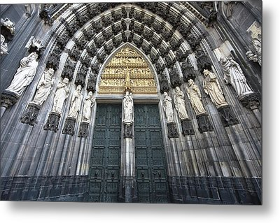 Cologne Germany  The Cathedral Metal Print by Nicole Riley