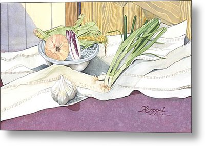 Eat What Is Good Metal Print by Christine Belt