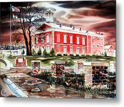 Iron County Courthouse II Metal Print by Kip DeVore