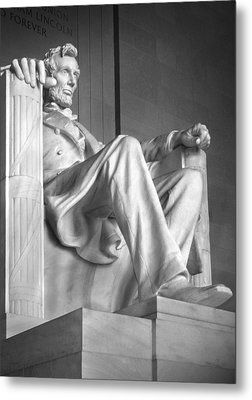 Lincoln Memorial Metal Print by Mike McGlothlen