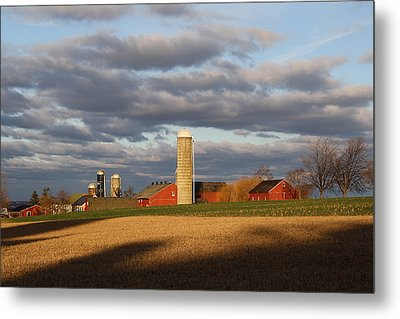 Shades Of Evening Metal Print by Doug Hoover