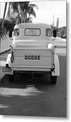 The Old Dodge  Metal Print by Rob Hans