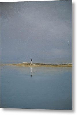 The Point Metal Print by Michael Marrinan