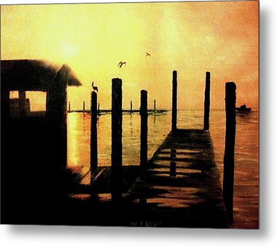 Warm Waters Metal Print by Travis  Ragan