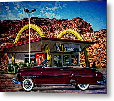 1951 Chevrolet Convertible Metal Print by Tim McCullough