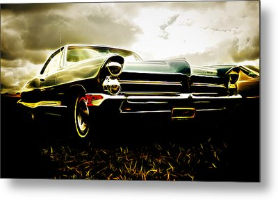 1965 Pontiac Bonneville Metal Print by Phil 'motography' Clark
