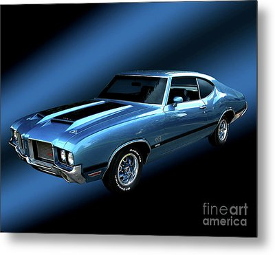 1972 Olds 442 Metal Print by Peter Piatt