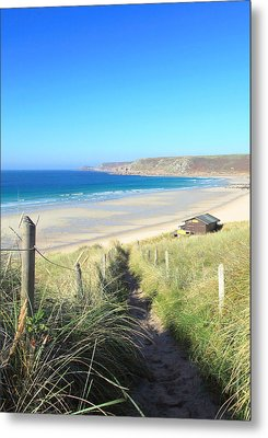Sennen Cove Metal Print by Carl Whitfield