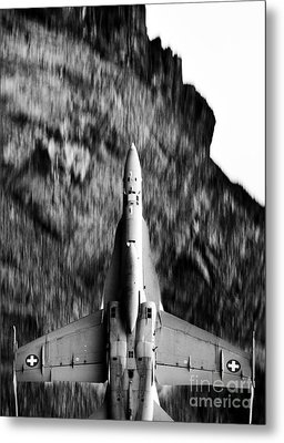 Speed Of Sound Metal Print by Angel  Tarantella