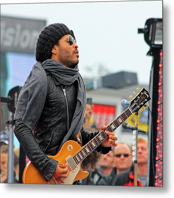 Lenny Kravitz Metal Print by Wild Expressions Photography