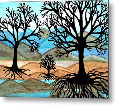 A Good Foundation Metal Print by Connie Valasco