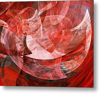 A Mothers Womb . A120422.446 Metal Print by Wingsdomain Art and Photography