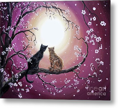 A Shared Moment Metal Print by Laura Iverson