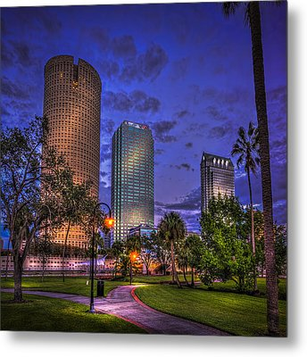A Walk In The Park Metal Print by Marvin Spates