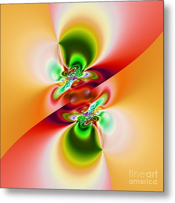 Abstract 241 Metal Print by Rolf Bertram