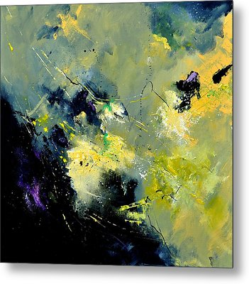 Abstract 8821603 Metal Print by Pol Ledent